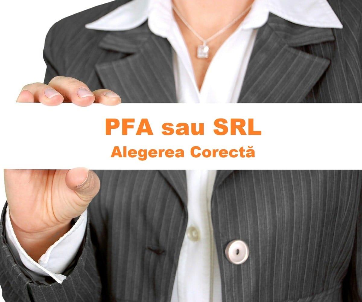 pfa sau SRl